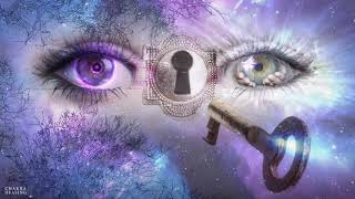 POWERFUL! Third Eye Chakra Music, Opening Third Eye (Alpha t...