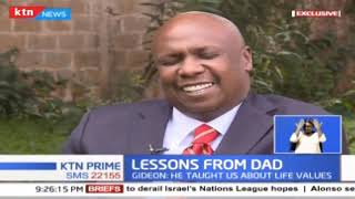 Lessons Senator Gideon Moi learnt from his father retired President Daniel Moi