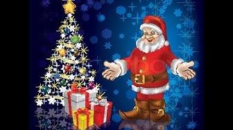 Дядо Коледа -  как успява в час уречен - песен