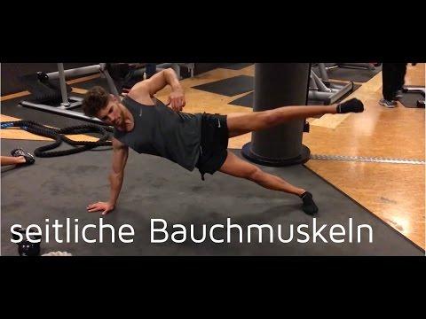 seitliche bauchmuskeln trainieren side plank doovi. Black Bedroom Furniture Sets. Home Design Ideas