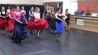 Уроки фламенко для