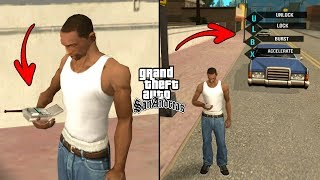 Secret Hacker in GTA San Andreas! (Hacking Cars, People, Trains)
