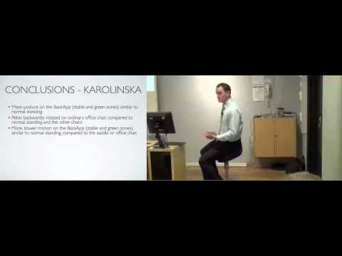 Lecture on Research Carried out on Back App Ergonomic Chair