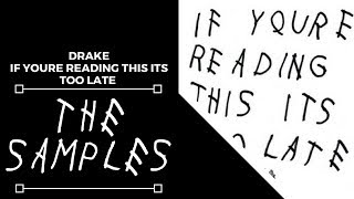 Download Samples From: Drake - If You're Reading This It's Too Late MP3 song and Music Video