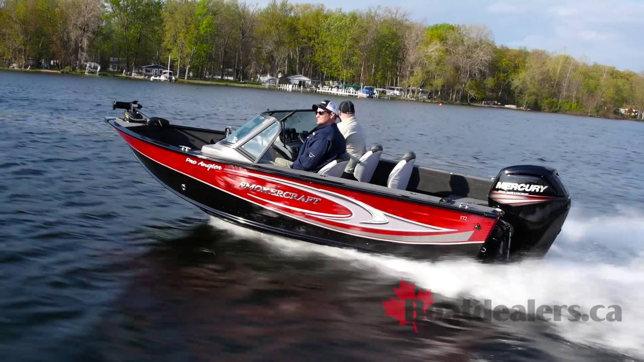 2017 Smoker Craft Pro Angler 172 Aluminum Fishing Boat