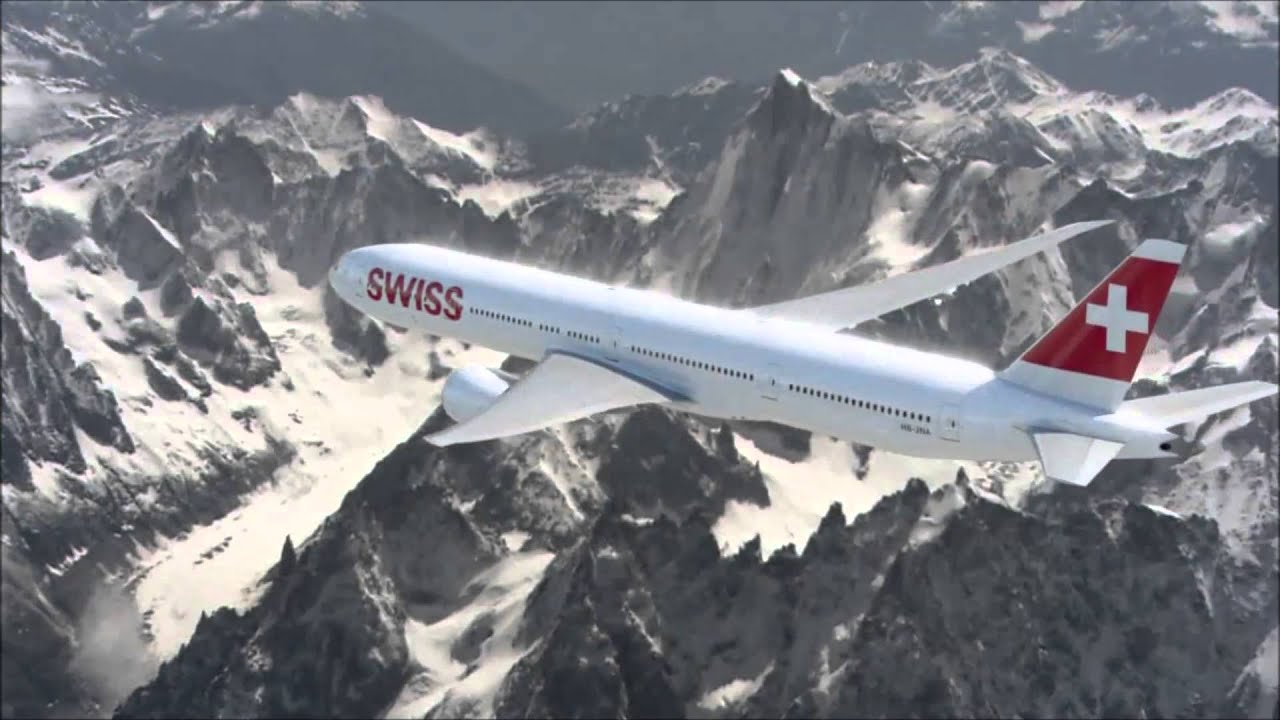 Swiss International Air Lines Boeing 777 300 Er Unveiling