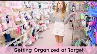 Shopping for a Planner | Target getting me organized
