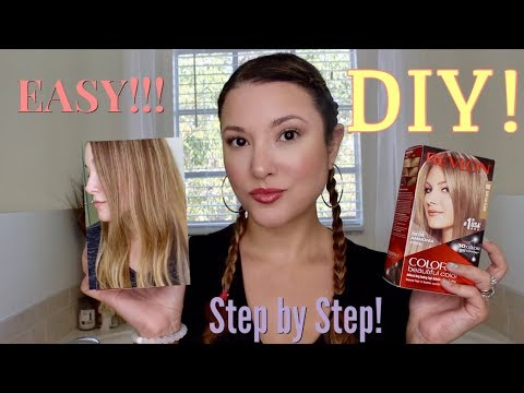 DIY: EASY How to Color your Hair at Home using Revlon Colorsilk