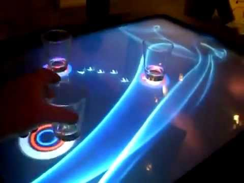Interactive Multi Touch Table Projection