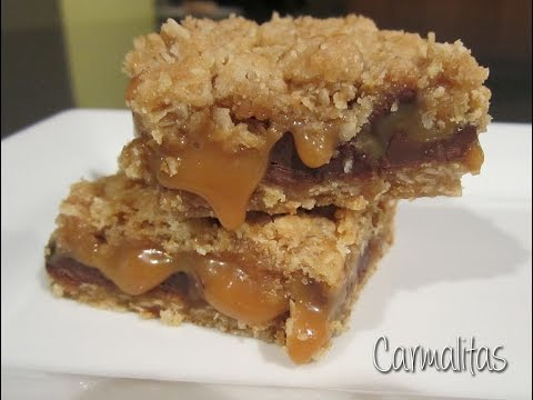 Carmelita Cookie Bar Recipe!
