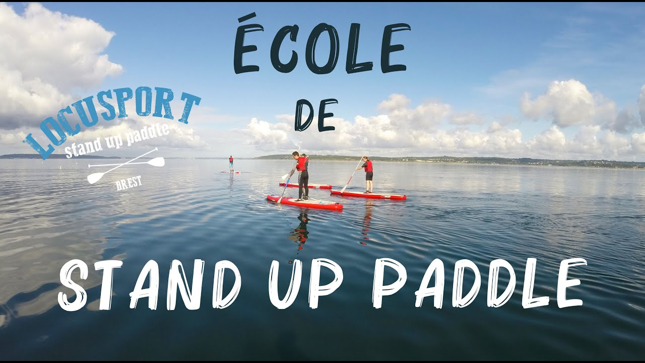 locusport ecole itin rante de stand up paddle brest youtube. Black Bedroom Furniture Sets. Home Design Ideas