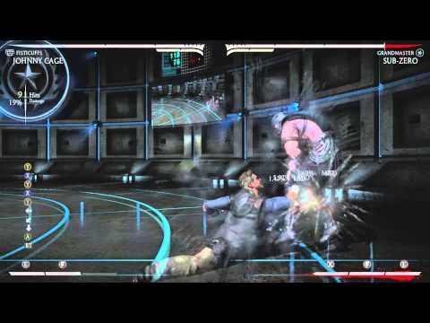 Mortal Kombat X: Fisticuffs Johnny Cage Combos