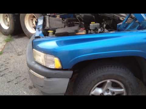 V8 runnung on gasoline fumes