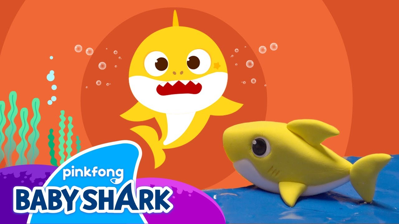 Clay Baby Shark and Baby Shark Hiccup Song | Baby Shark Clay and Song | Baby  Shark Official - YouTube