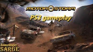 Motorstorm (PS3 gameplay) - Świetne wyścigi i tytuł startowy na PlayStation 3