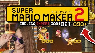 JUST IN TIME! ENDLESS EXPERT 008 | 081-090+// SUPER MARIO MAKER 2