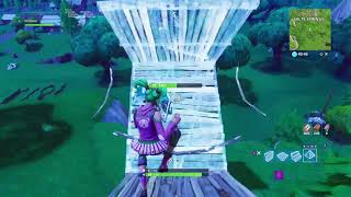 Fortnite Battle Royale new triple layer ramp rush (xbox one combat pro)