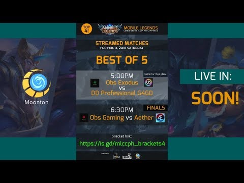 OBS GAMING vs AETHER – FINALS MLCCP – MOBILE LEGENDS – 2000 DIAMONDS GIVEAWAY – TOURNAMENT MESA
