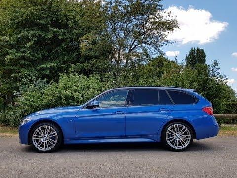 WALKAROUND - 2013 F31 BMW 330D Xdrive M Sport Touring - Estoril Blue Review