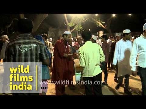 Muslims gather on the eve of Shab-e-barat
