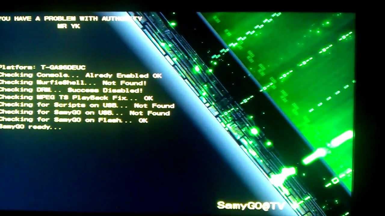 SamyGO, Samsung Firmware on the GO