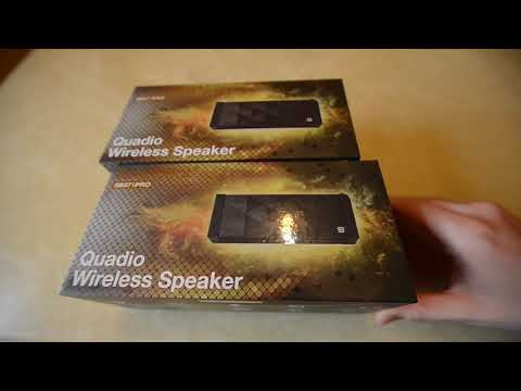 How to play the same music on multiple bluetooth wireless speaker at once?  SB571PRO unboxing