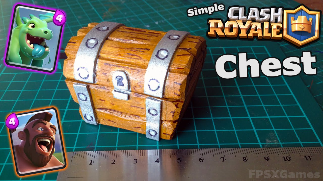Making a Simple Clash Royale Chest - YouTube