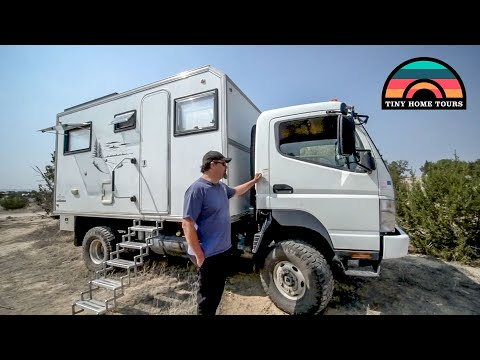 Fuso Expedition Vehicle Tiny Home - Full Tour