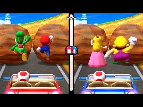 Mario Party The Top 100 Minigames - Mario & Yoshi Vs. Peach and Wario