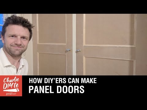 How To Make Panel Doors With Basic Tools! Video 1/6