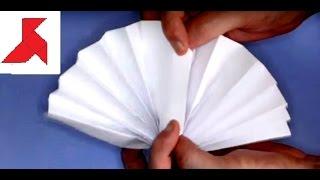 Как сделать веер