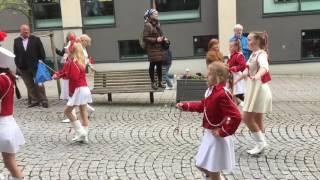 Наши моряки на параде в Норвегии 17.05.2017