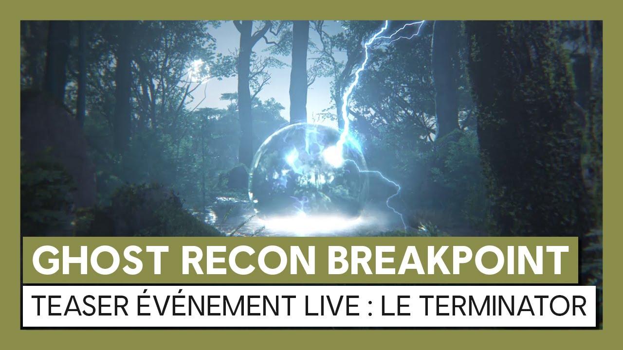 Ghost Recon Breakpoint - Teaser événement TerminatorVOSTFR