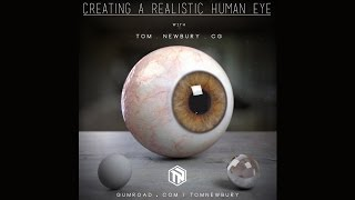 Tutorial Preview: Creating a Realistic Human Eye in CG