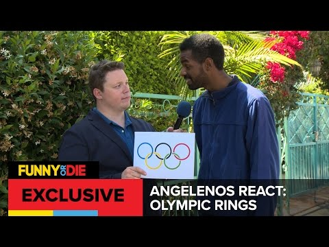 Angelenos React: Olympic Rings