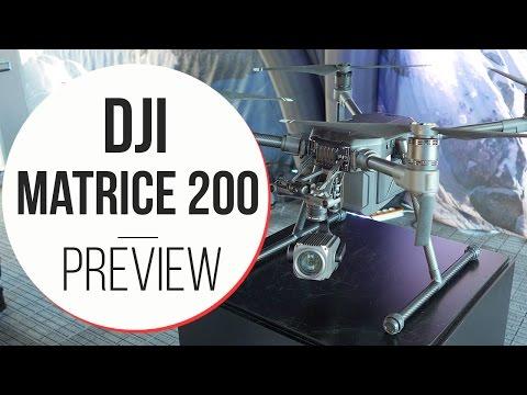 Anteprima DJI Matrice 200 - MWC 2017
