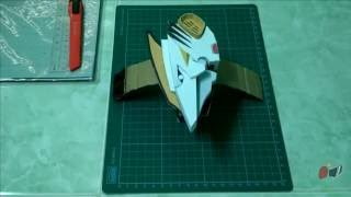 Dino Minder/Drago Morpher Papercraft Preview