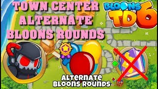 BTD6 - Town Center - Alternate bloons rounds - hard (no knowledge)
