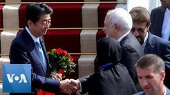 Abe Is First Japanese Leader to Visit Iran in 40 Years