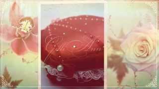 Коробочка для колец Gilliann Red Shell PIL224