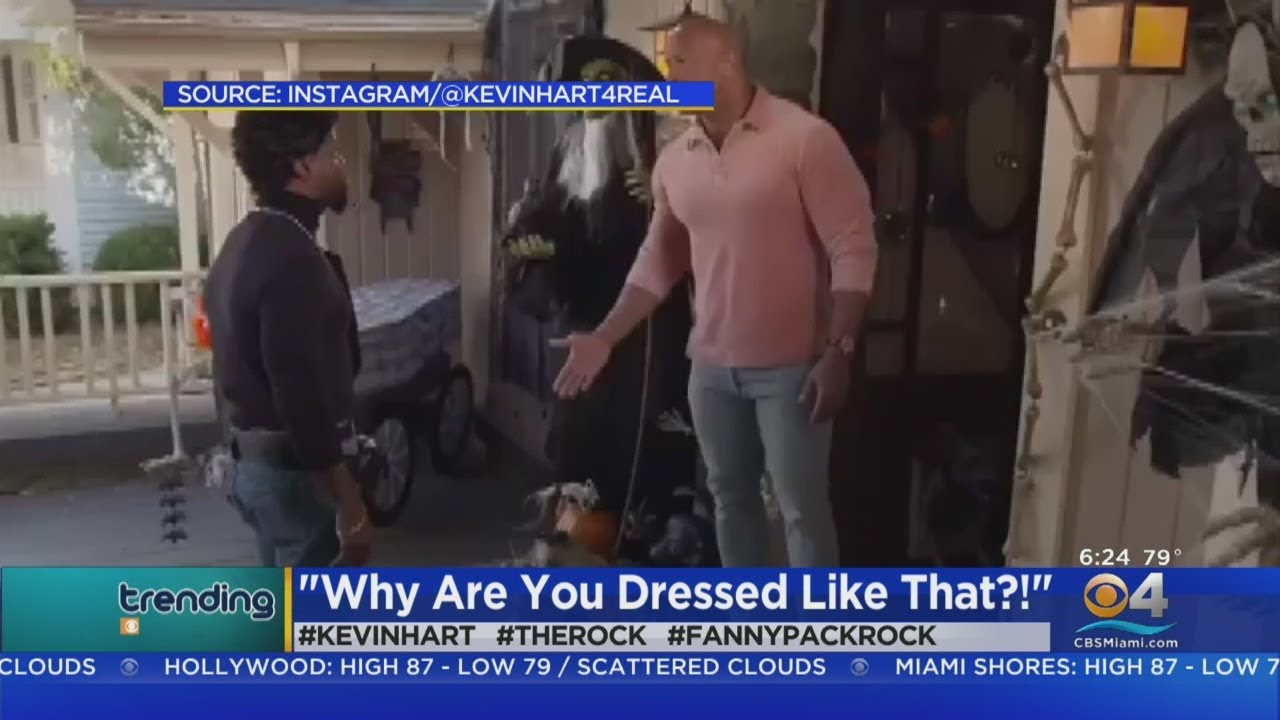 #Trending: Kevin Hart Dressed Like The Rock