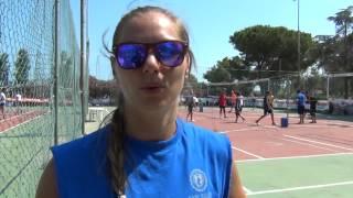 14-07-2015: Francesca Ferretti al Volley Jam Camp di Monopoli (BA)