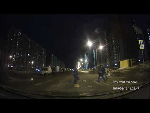 Driving In Moscow Agglomeration: Дубровицы - Кузьминки 16/03/2019 (timelapse)