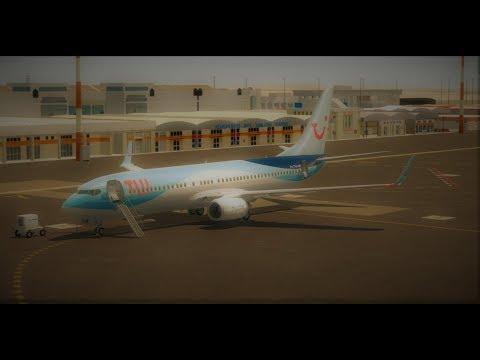 [Prepar3D] TFL446, Sal(GVAC) Amsterdam(EHAM) - PMDG 737-800NGX