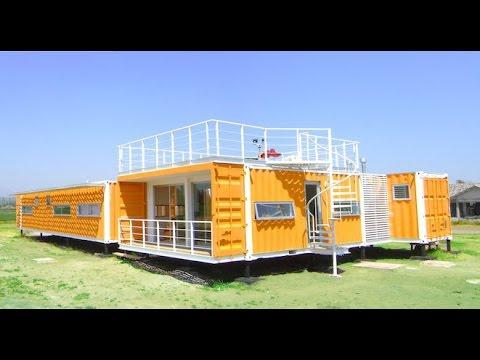 Ideas de casas con contenedores reciclados youtube - Casas de contenedores maritimos ...