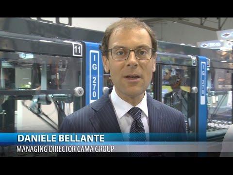 Ipack IMA 2015   Int  Daniele Bellante   Managing Director CAMA GROUP