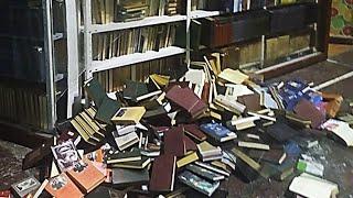 Как разгромили магазин русской книги