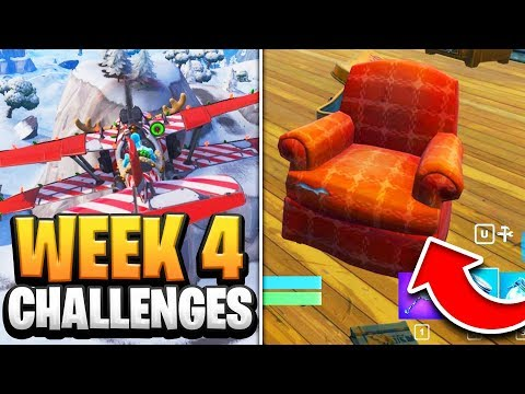 Fortnite Season 7 Week 4 Challenges GUIDE! How to Do Week 4 Challenges in Fortnite - Tutorial