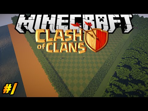 Clash Of Clans In Minecraft | Making Of #1 | Landscape