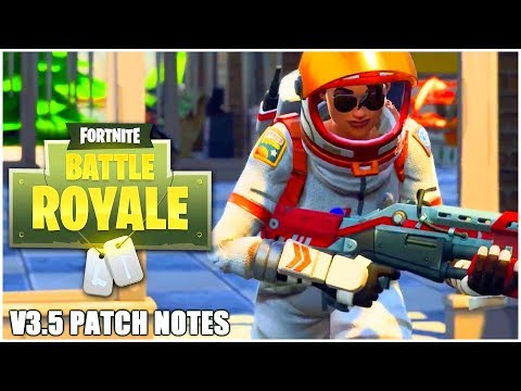 Fortnite Patch Notes Update 3.5! Fortnite 50v50 New Gamemode + Fortnite Battle Royale Port A Fort!